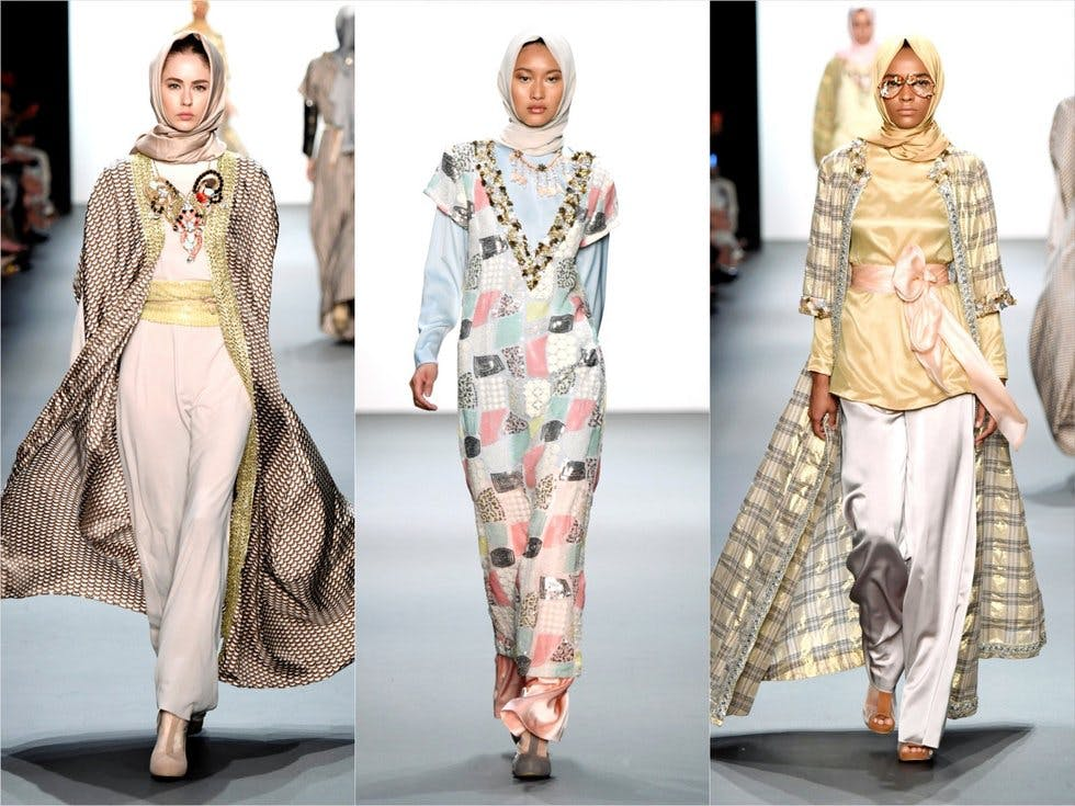 An All Hijab Show Has Made History At Fashion Week Stylist