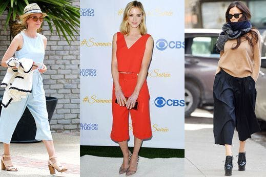ab08410e7e3 Five simple ways to make culottes ridiculously flattering