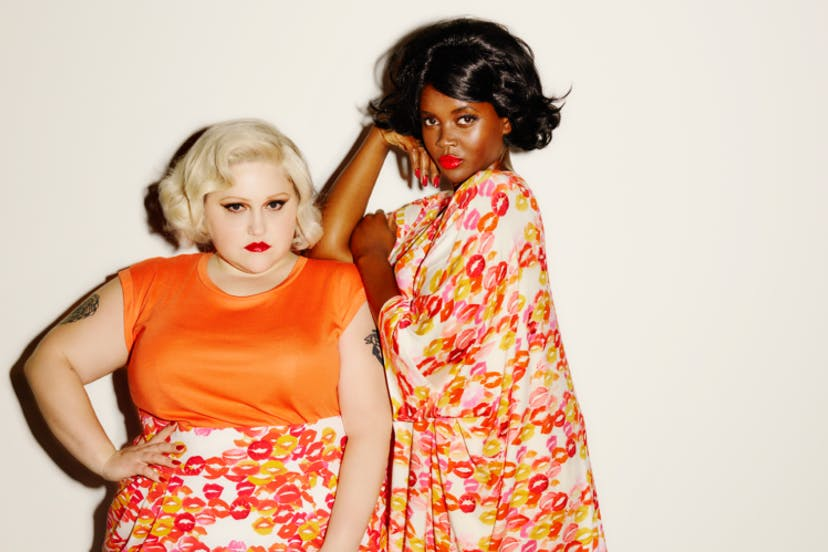 Exciting Bold And Fashion Forward Beth Ditto S New Plus Size