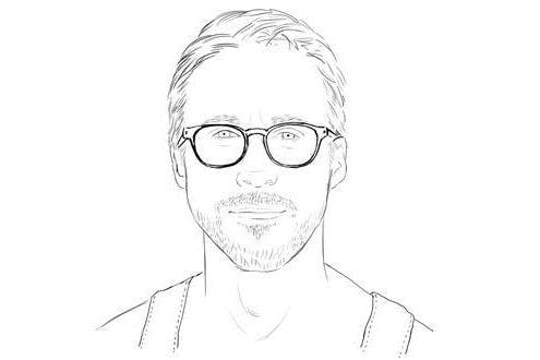 Hey Girl Theres A Ryan Gosling Colouring Book