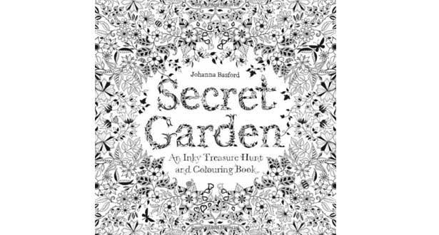 secret garden coloring pages completed operations   The bestselling adult colouring books   Stylist