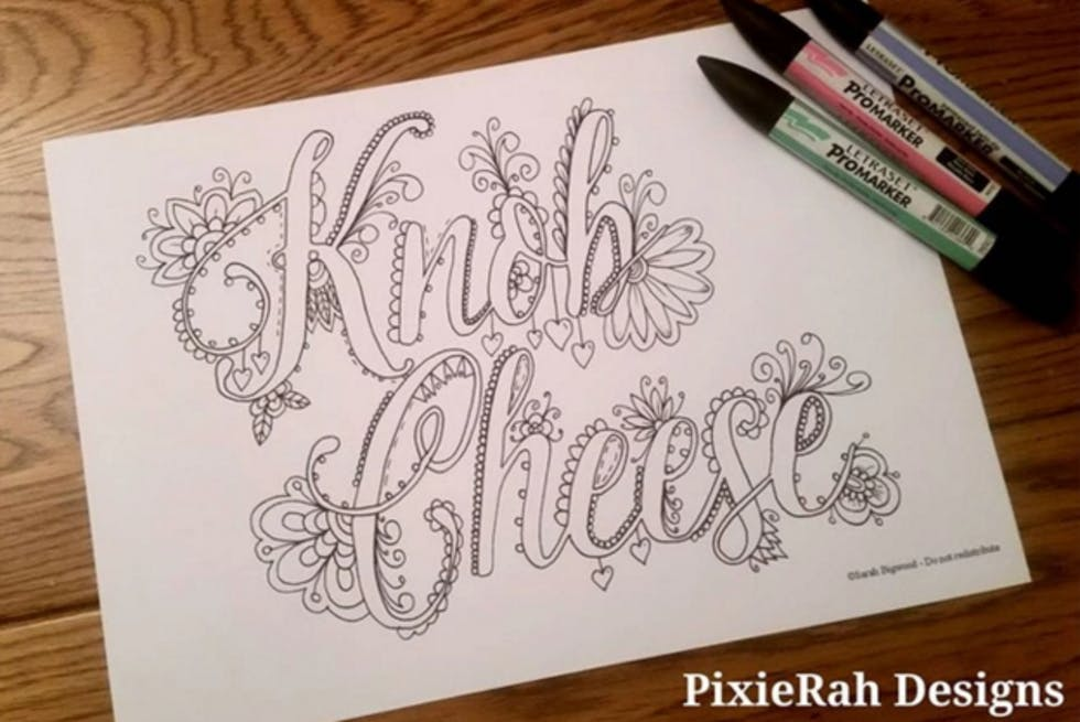Colouring Book Of Swear Words