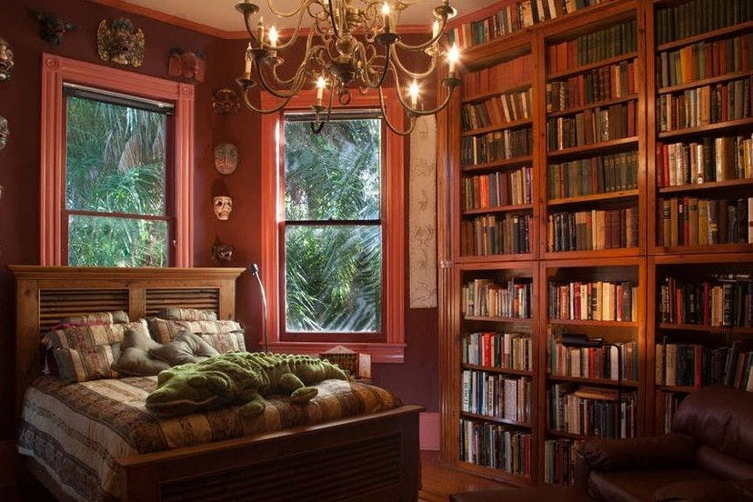 These Beautiful Libraries Are All Available To Rent On Airbnb Stylist