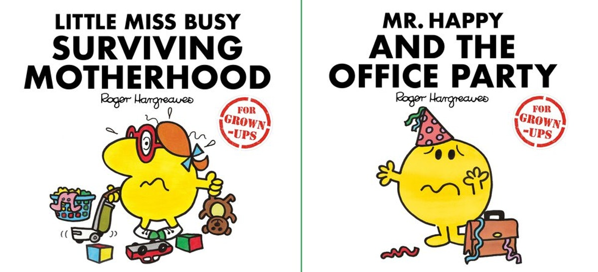 little miss mr men grown up books