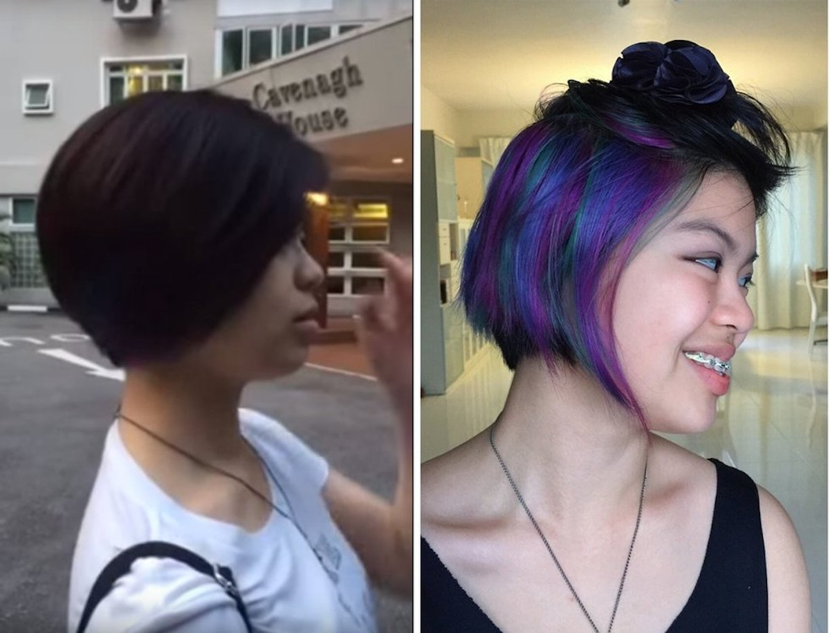 New Hidden Hair Dye Trend Is Perfect For The Wary And Cautious