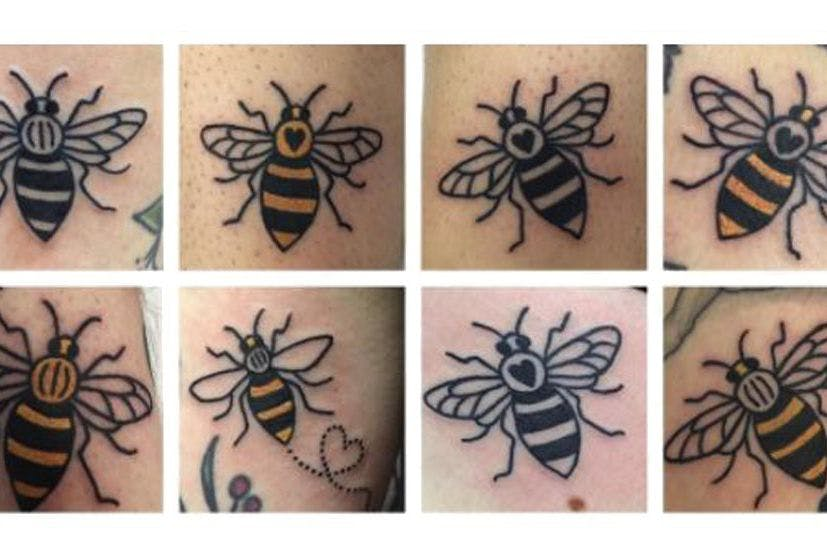 People Are Getting Bee Tattoos In Honour Of The Manchester Attack