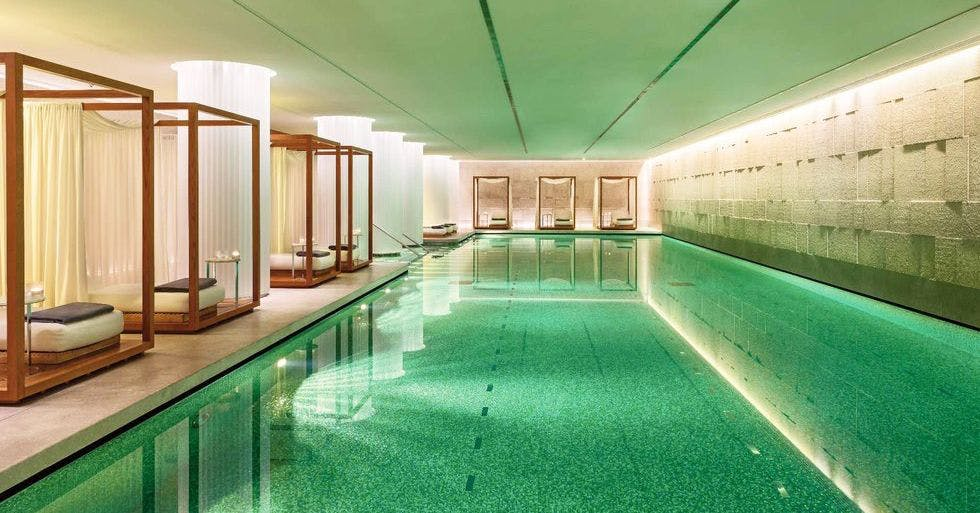 Hidden Gem Swimming Pools At Luxury London Hotels Stylist