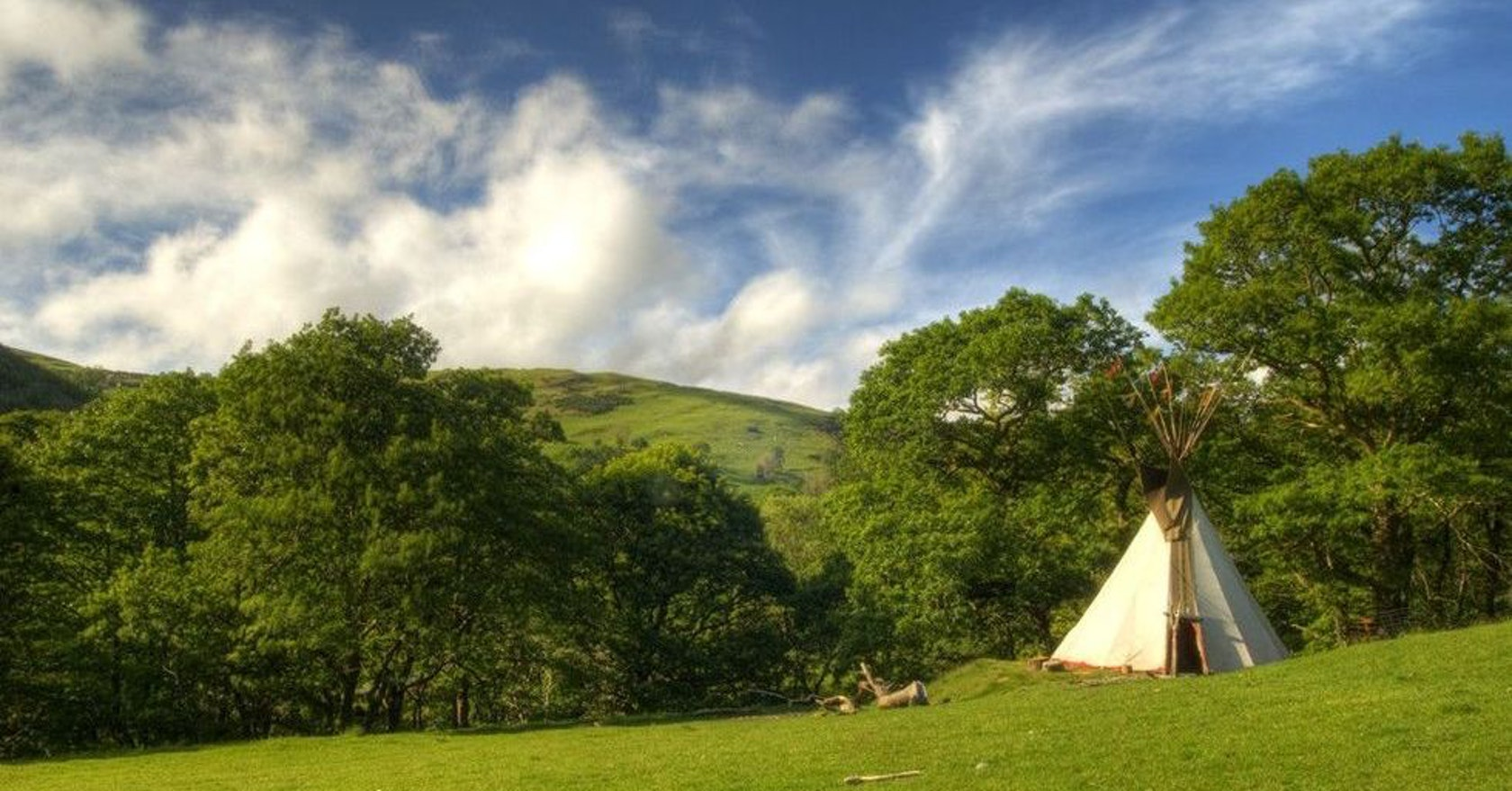 The best UK campsites with a folky, festival vibe (minus the mud and crowds)