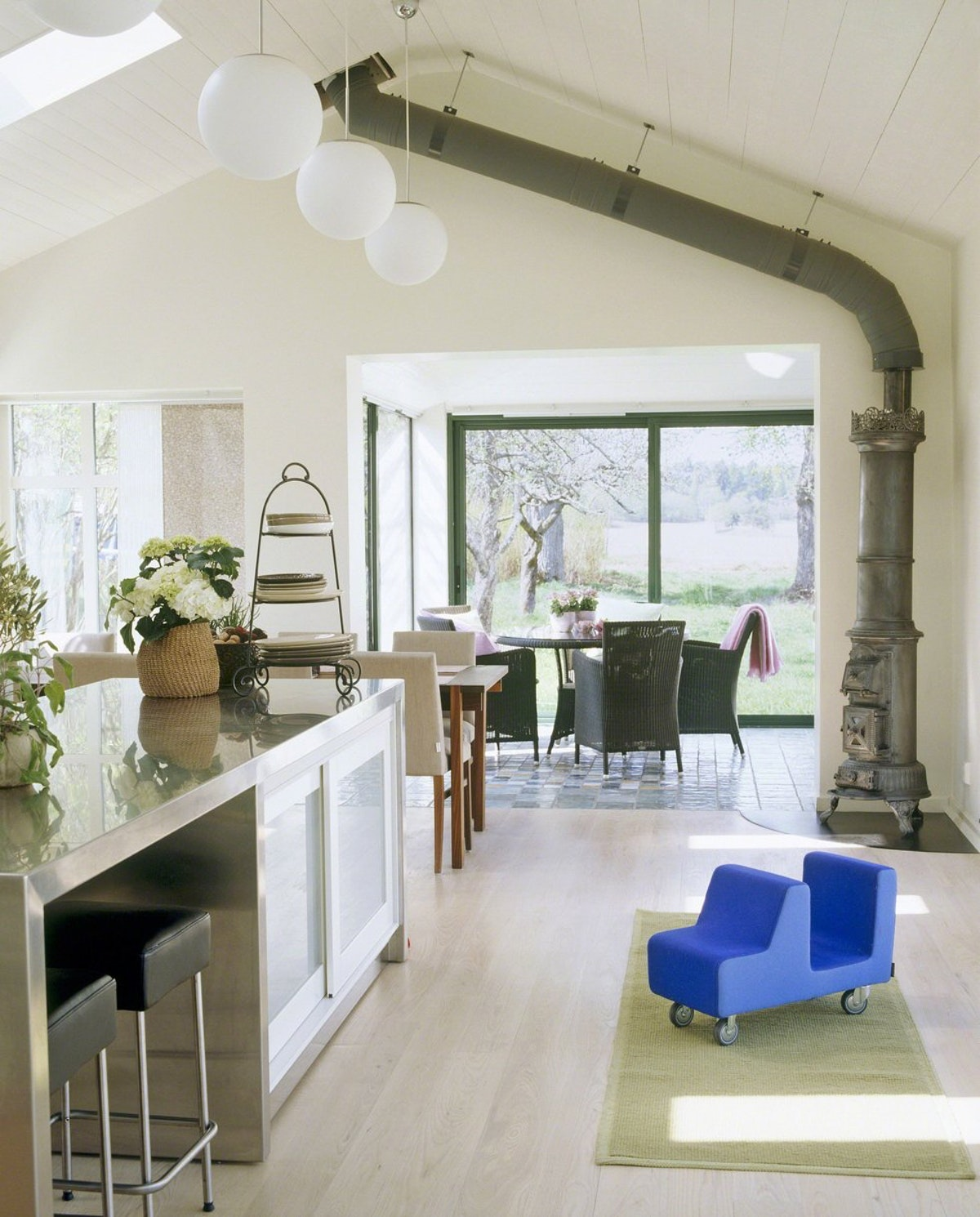 Open Plan Country Kitchen: Never Put Work Before Life; From Midnight Swims To Beach