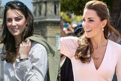 Middleton kate style evolution