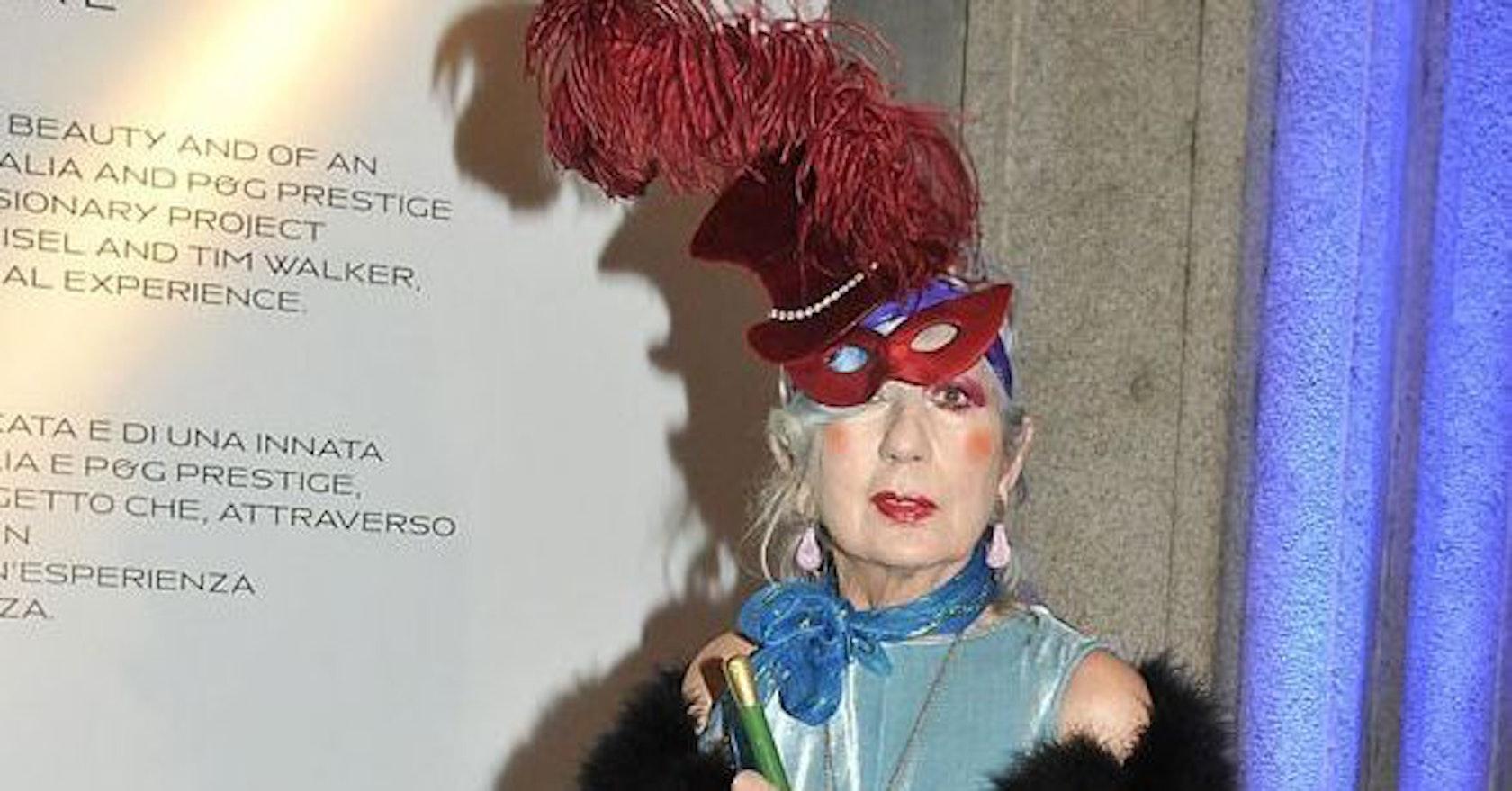 Fashion icon Anna Piaggi dies
