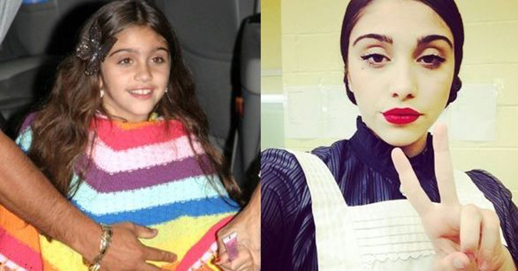 Celebrity children, all grown up: from Lourdes to Brooklyn Beckham