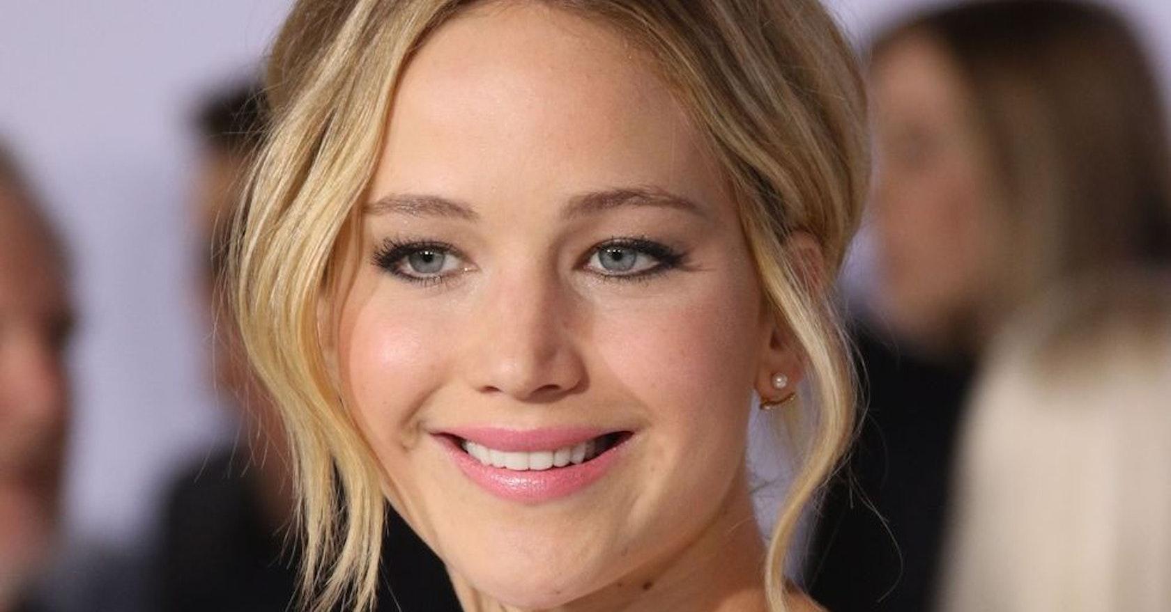 Jennifer Lawrence beat...
