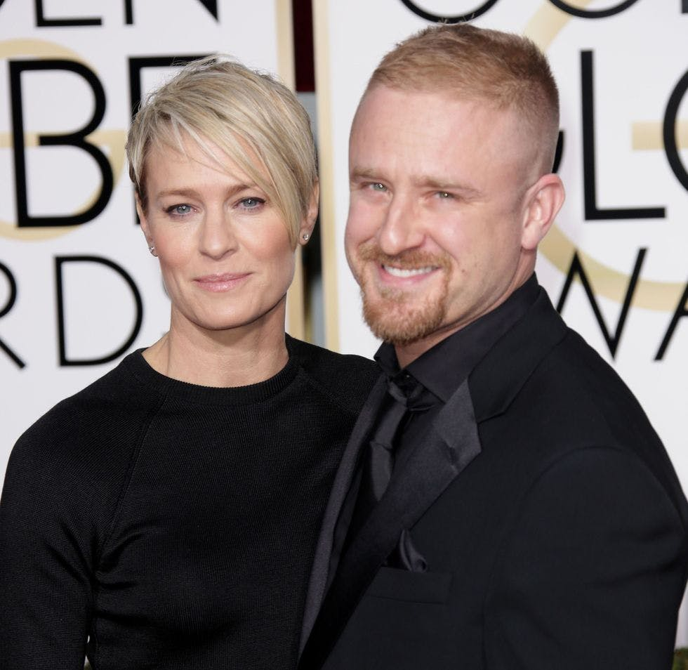 Robin Wright On On Sean Penn Love And Claire Underwoods Iconic