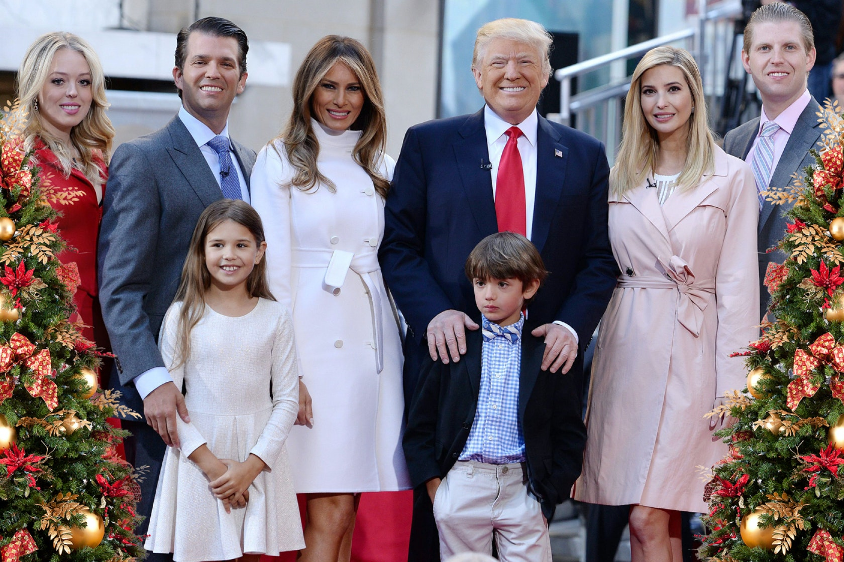 Family Christmas Pictures Part - 24: These Tweets About The Trump Family Christmas Card Are Just Perfect