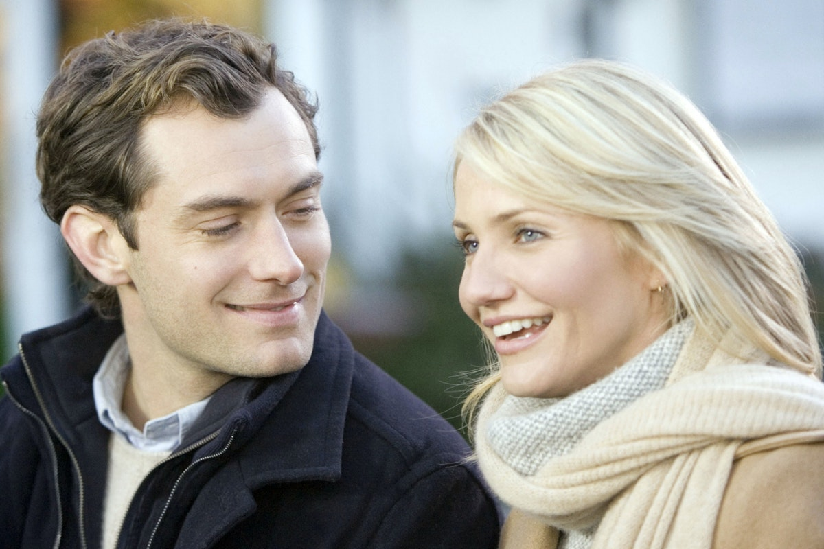 Jude Law and Cameron Diaz in The Holiday