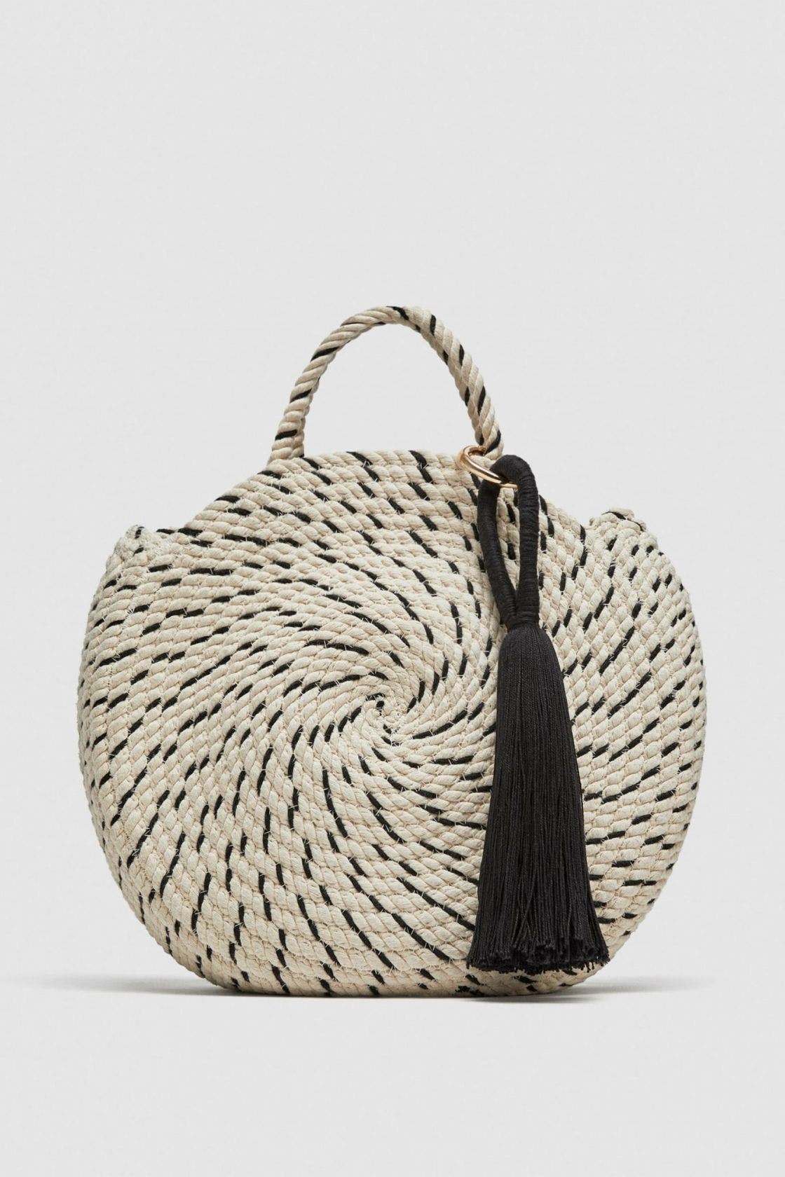 Best Work Bags 16 That Are Categorically Not Boring Stylist Zara Double Strap Bag Round Bucket