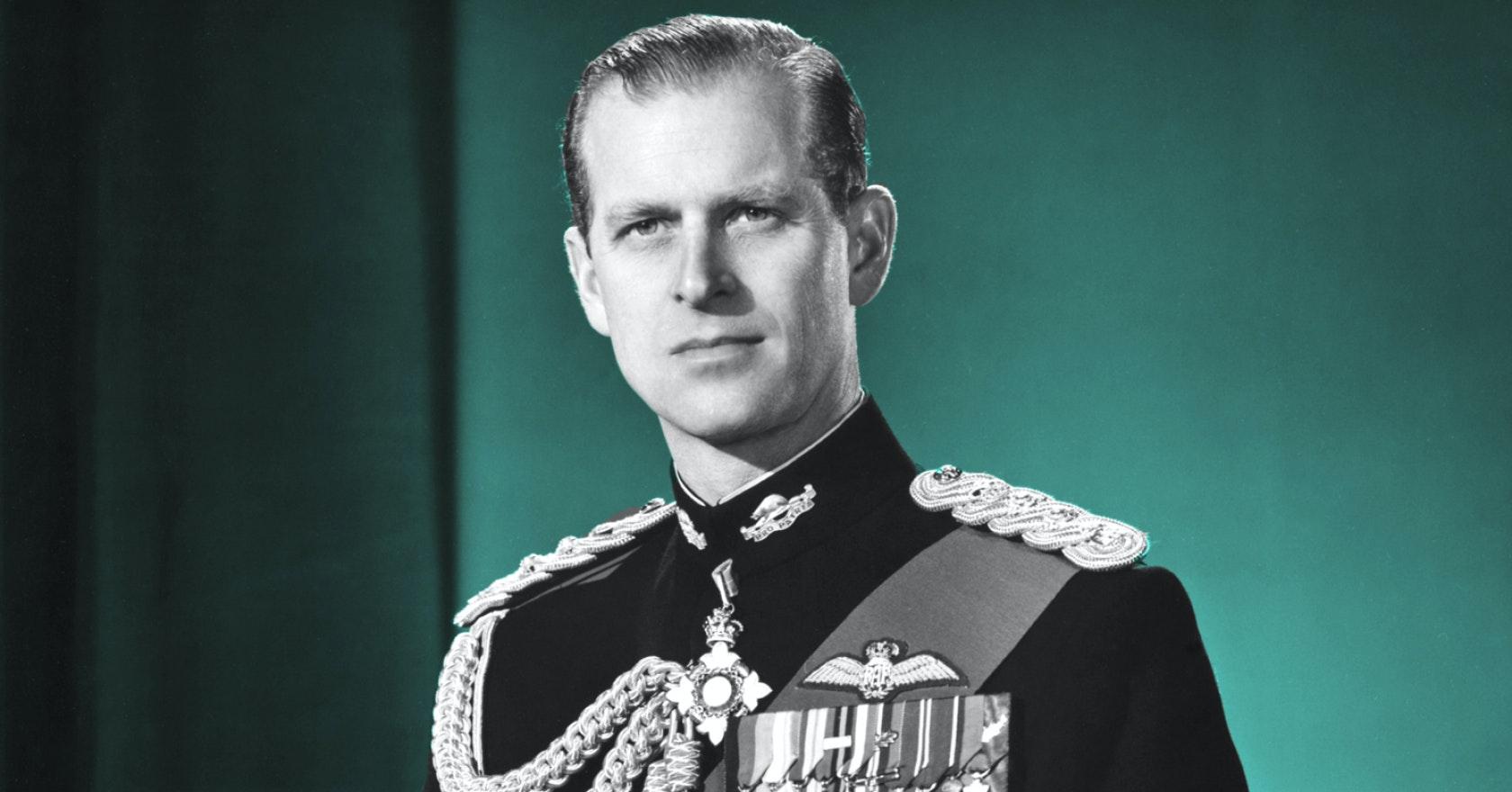 Prince Philip Duke of Edinburgh is the Queens husband
