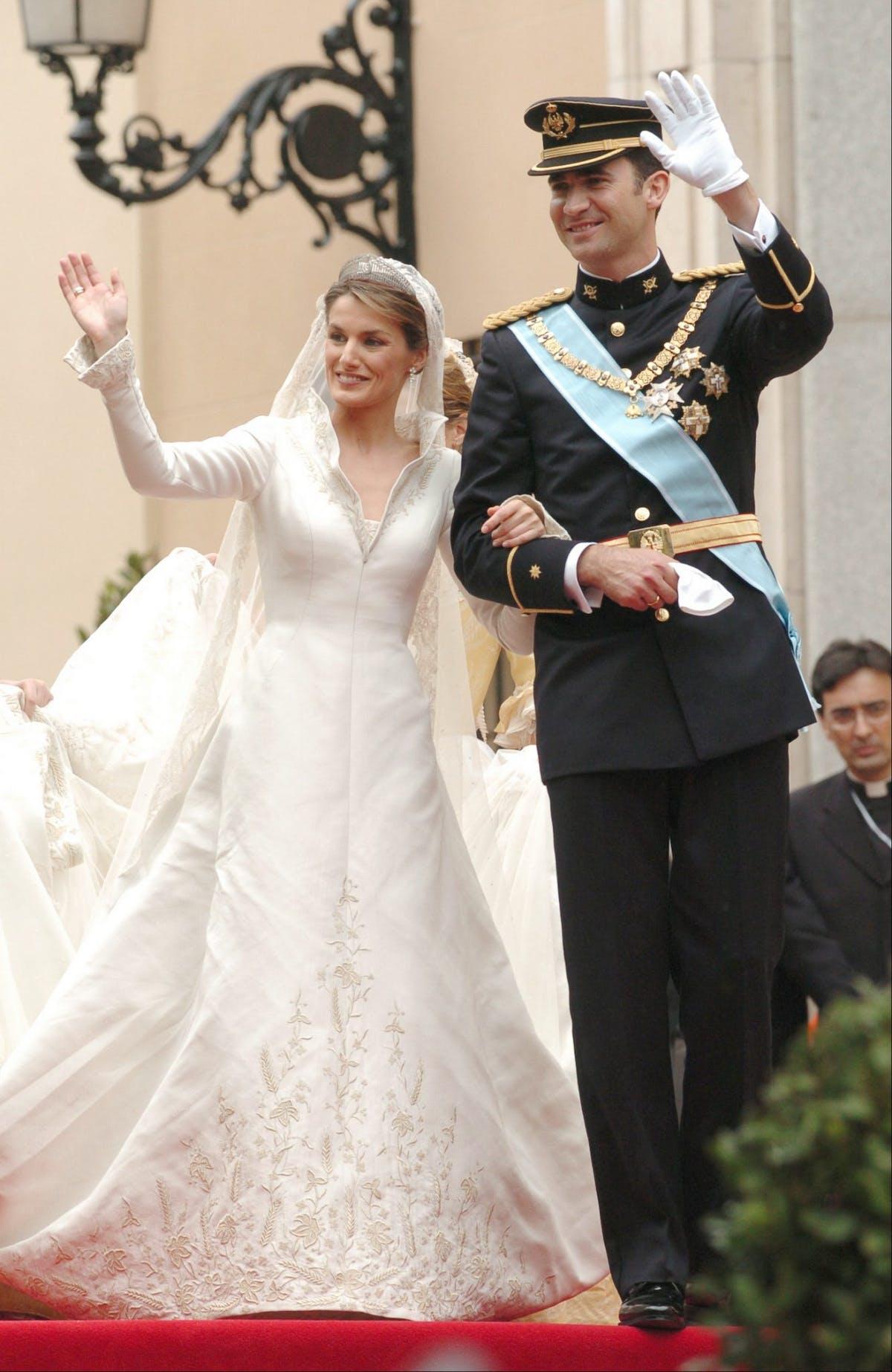 Queen Letizia Of Spain 22 May 2004