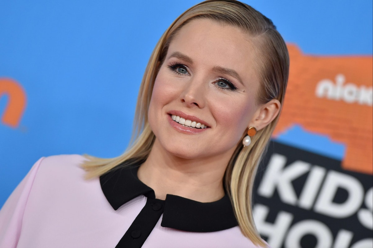 Actress Kristen Bell attends Nickelodeon's 2018 Kids' Choice Awards at The Forum on March 24, 2018 in Inglewood, California