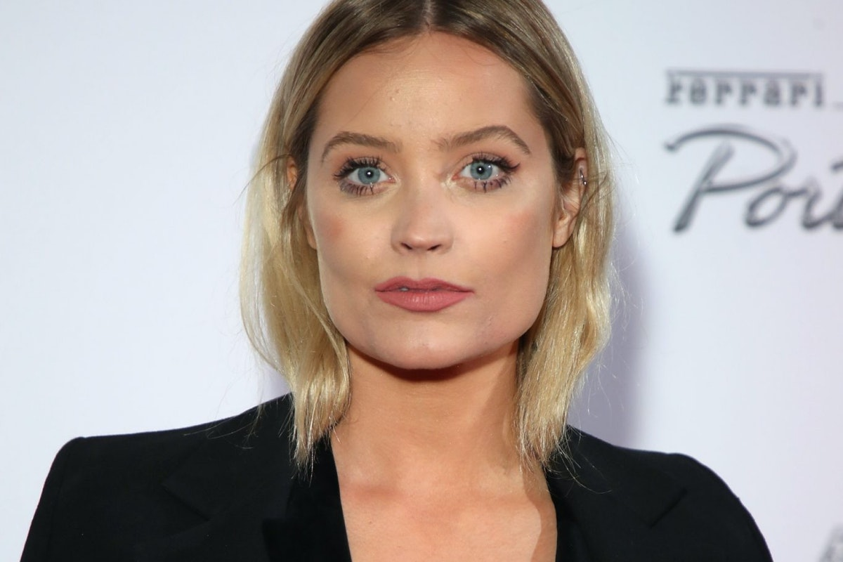 LONDON, ENGLAND - NOVEMBER 29: Laura Whitmore attends the UK launch event for the new Ferrari Portofino at Kensington Olympia on November 29, 2017 in London, England. (Photo by Mike Marsland/Getty Images for Ferrari)