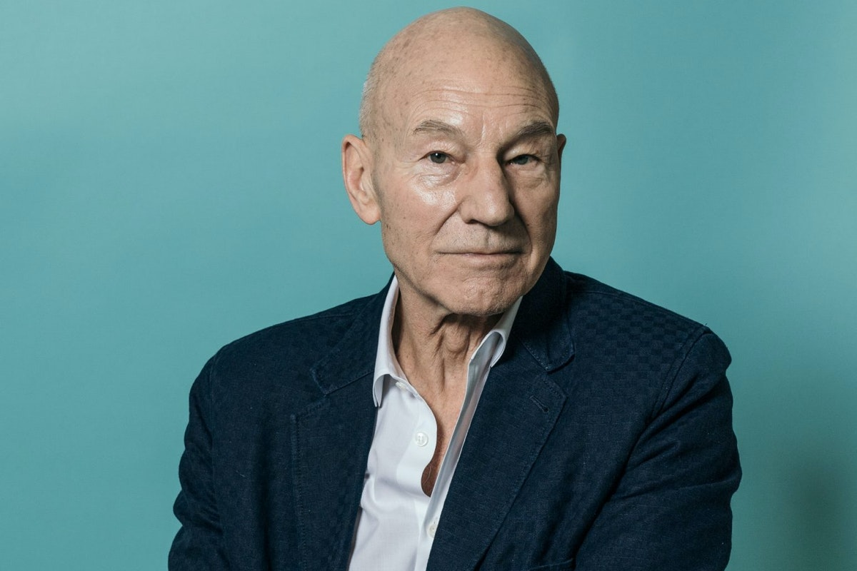 Sir Patrick Stewart poses during a portrait session on day three of the 14th annual Dubai International Film Festival held at the Madinat Jumeriah Complex on December 8, 2017 in Dubai, United Arab Emirates. (Photo by Neilson Barnard/Getty Images for DIFF)