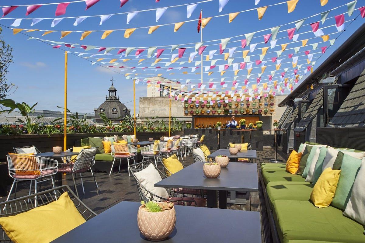 Soho Rooftop Restaurant London Aqua