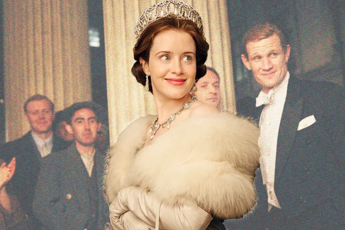 Claire foy as Elizabeth in the crown