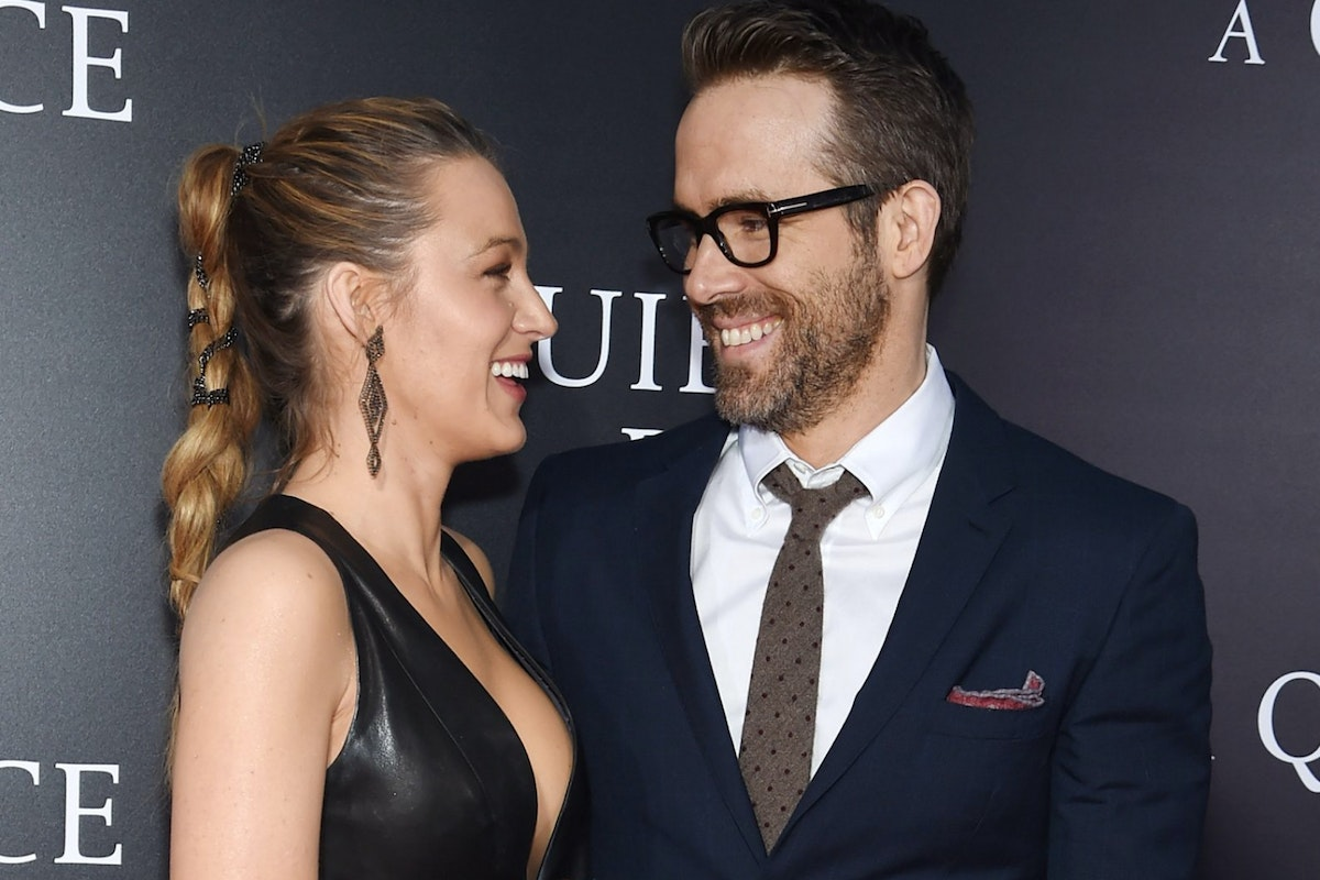 NEW YORK, NY - APRIL 02: Blake Lively and Ryan Reynolds attend the premiere for 'A Quiet Place' at AMC Lincoln Square Theater on April 2, 2018 in New York City. (Photo by Jamie McCarthy/Getty Images)