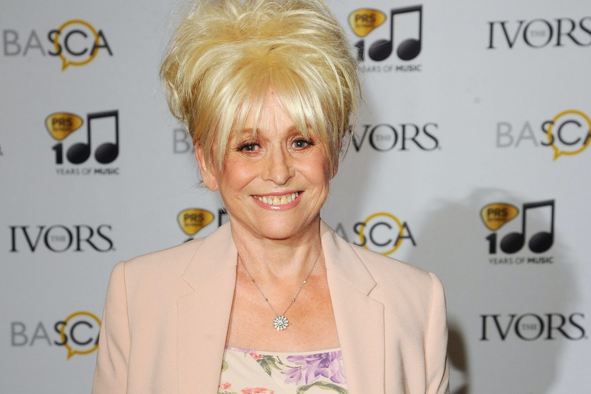 LONDON, ENGLAND - MAY 22: Barbara Windsor attends the Ivor Novello Awards at The Grosvenor House Hotel on May 22, 2014 in London, England. (Photo by Eamonn M. McCormack/Getty Images)