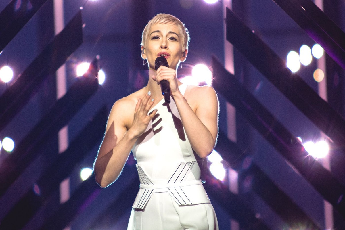 Surie performs Storm at Eurovision 2018