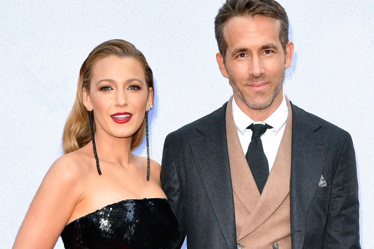 Ryan Reynolds and Blake Lively at the Deadpool 2 premiere