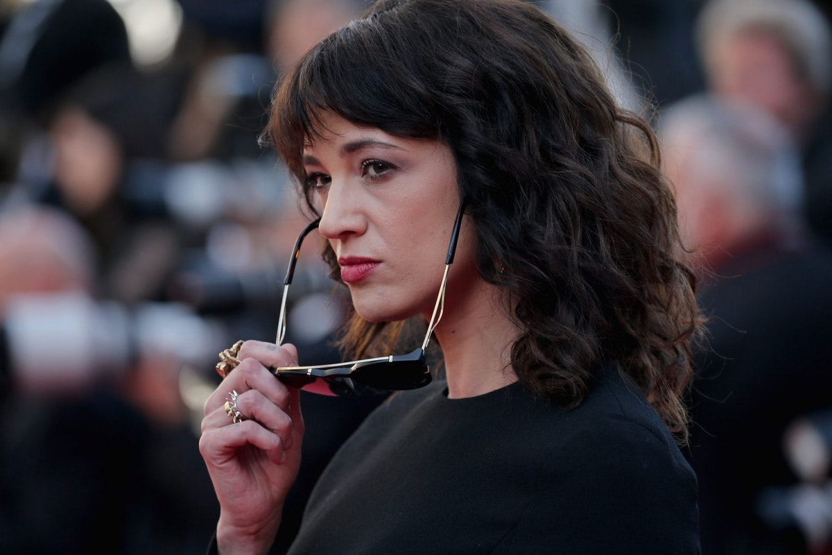 CANNES, FRANCE - MAY 19: Asia Argento attends the Closing Ceremony & screening of 'The Man Who Killed Don Quixote' during the 71st annual Cannes Film Festival at Palais des Festivals on May 19, 2018 in Cannes, France. (Photo by Gisela Schober/Getty Images)