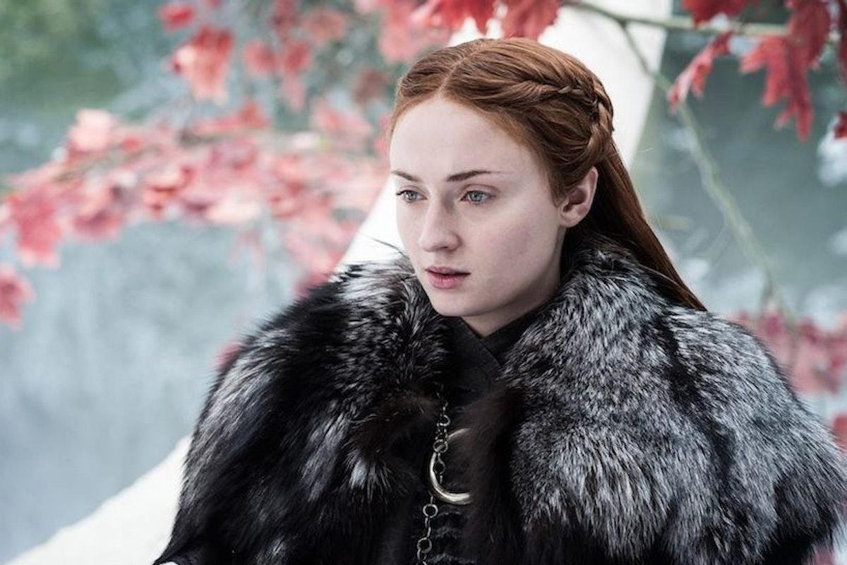 Sophie Turner as Sansa Stark in HBO's Game of Thrones