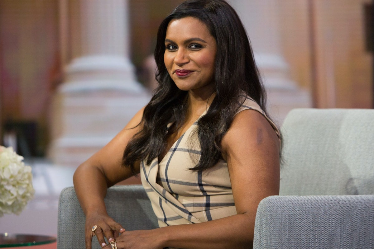 TODAY -- Pictured: Mindy Kaling on Thursday, June 7, 2018 -- (Photo by: Nathan Congleton/NBC/NBCU Photo Bank via Getty Images)