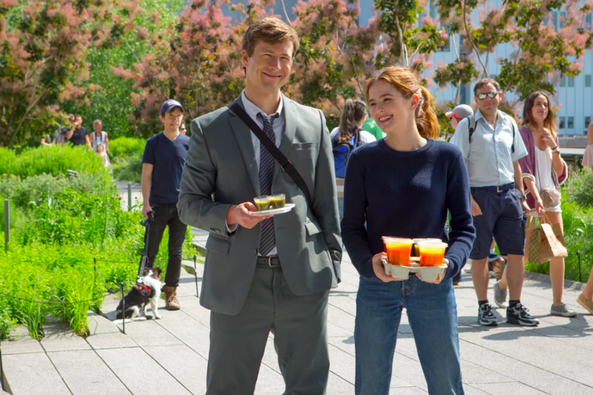 Netflix's Set It Up: Glen Powell and Zoey Deutch