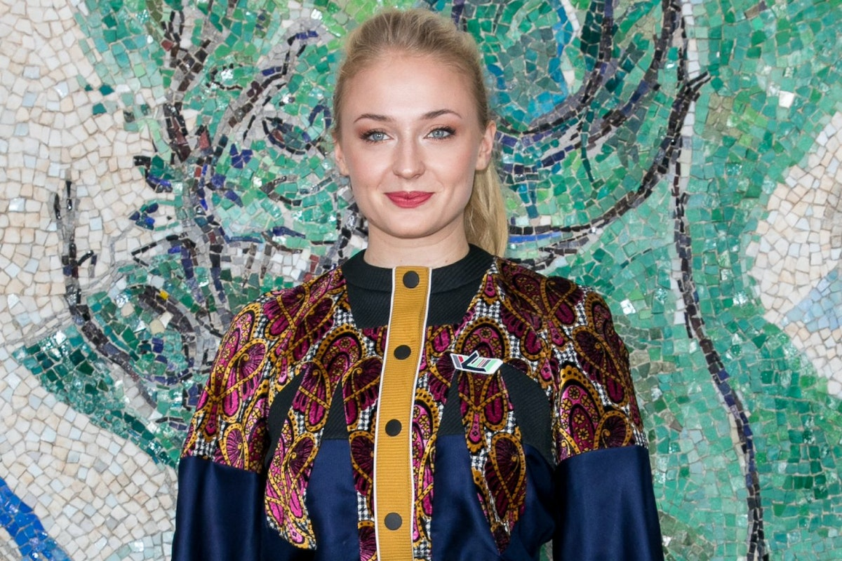 SAINT-PAUL-DE-VENCE, FRANCE - MAY 28: Actress Sophie Turner attends Louis Vuitton 2019 Cruise Collection at Fondation Maeght on May 28, 2018 in Saint-Paul-De-Vence, France. (Photo by Marc Piasecki/WireImage)