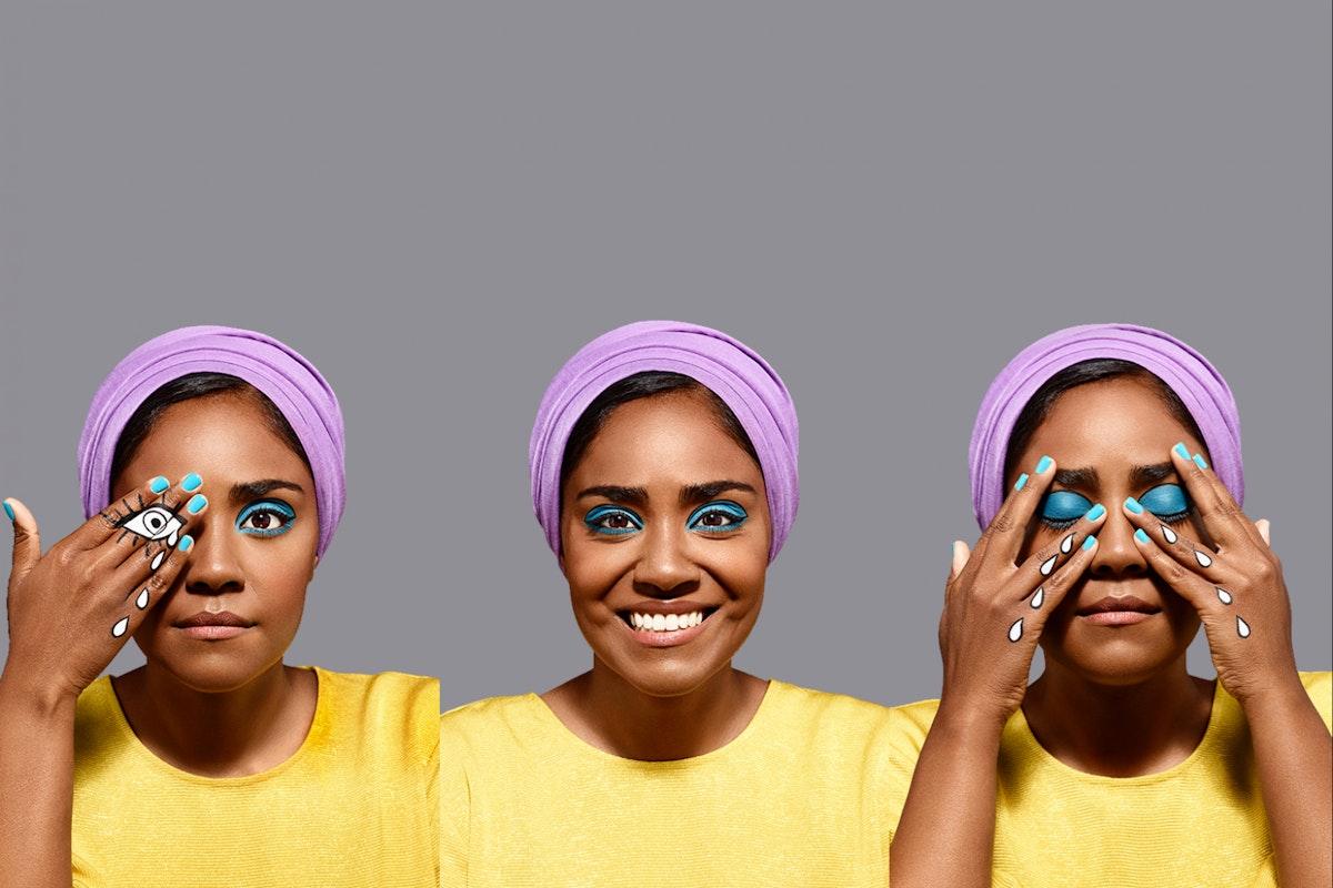 Nadiya Hussain on anxiety - Stylist cover star