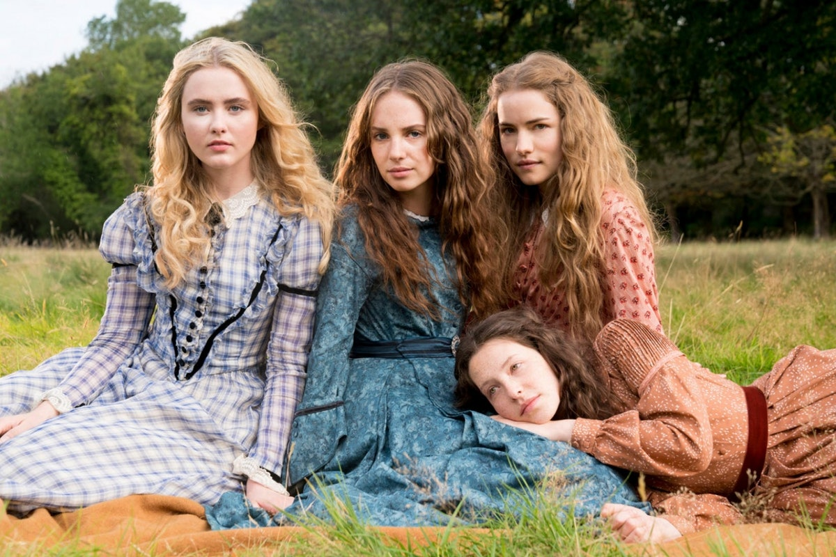 BBC One's cast of a 2017 adaptation of Little Women, including Uma Thurman's daughter, Maya Hawke.