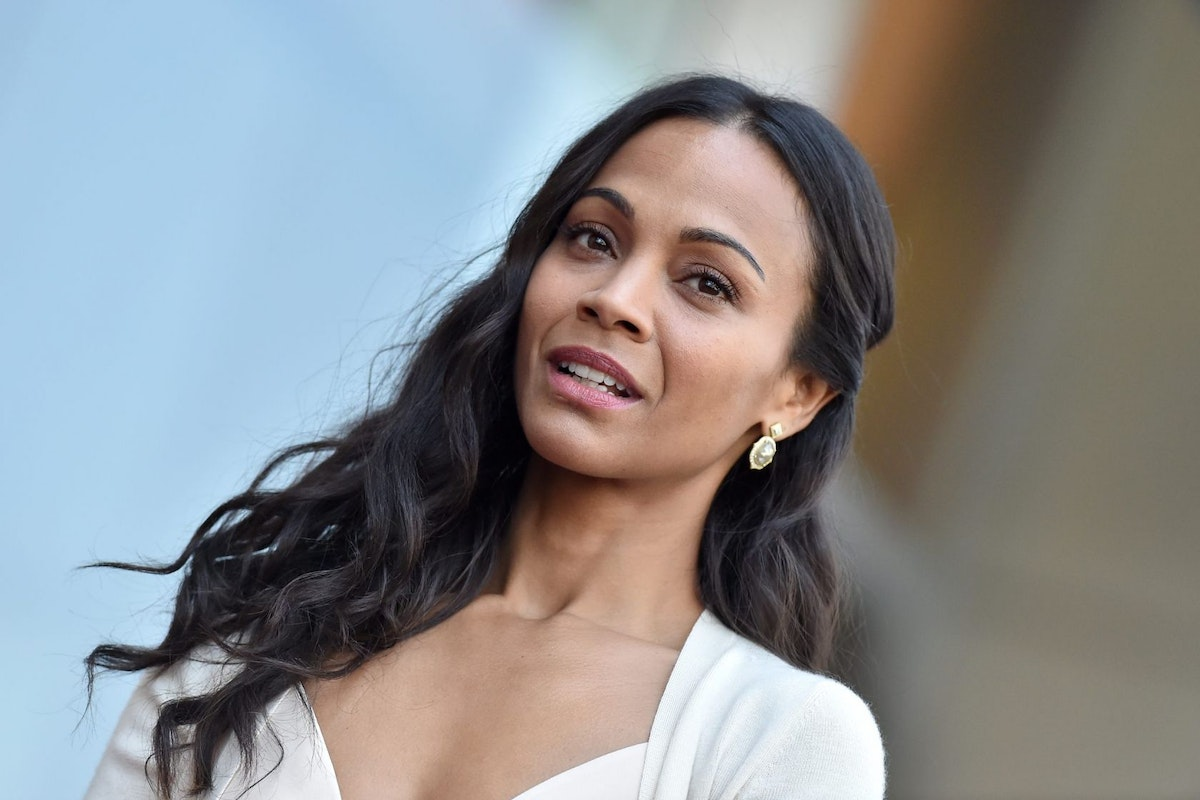 Zoe Saldana - Hollywood Walk of Fame
