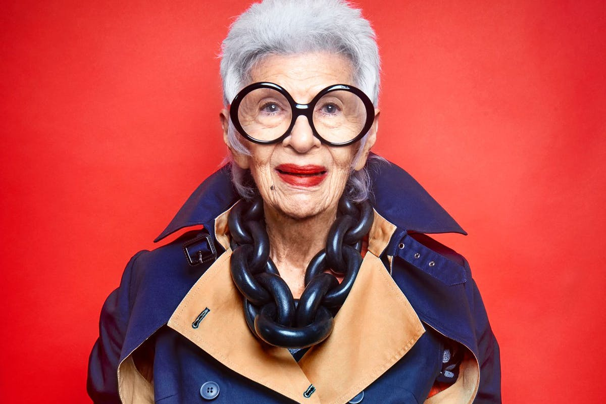 "2a0ed3c854 Iris Apfel  ""Why you have to find yourself before you find your style"""