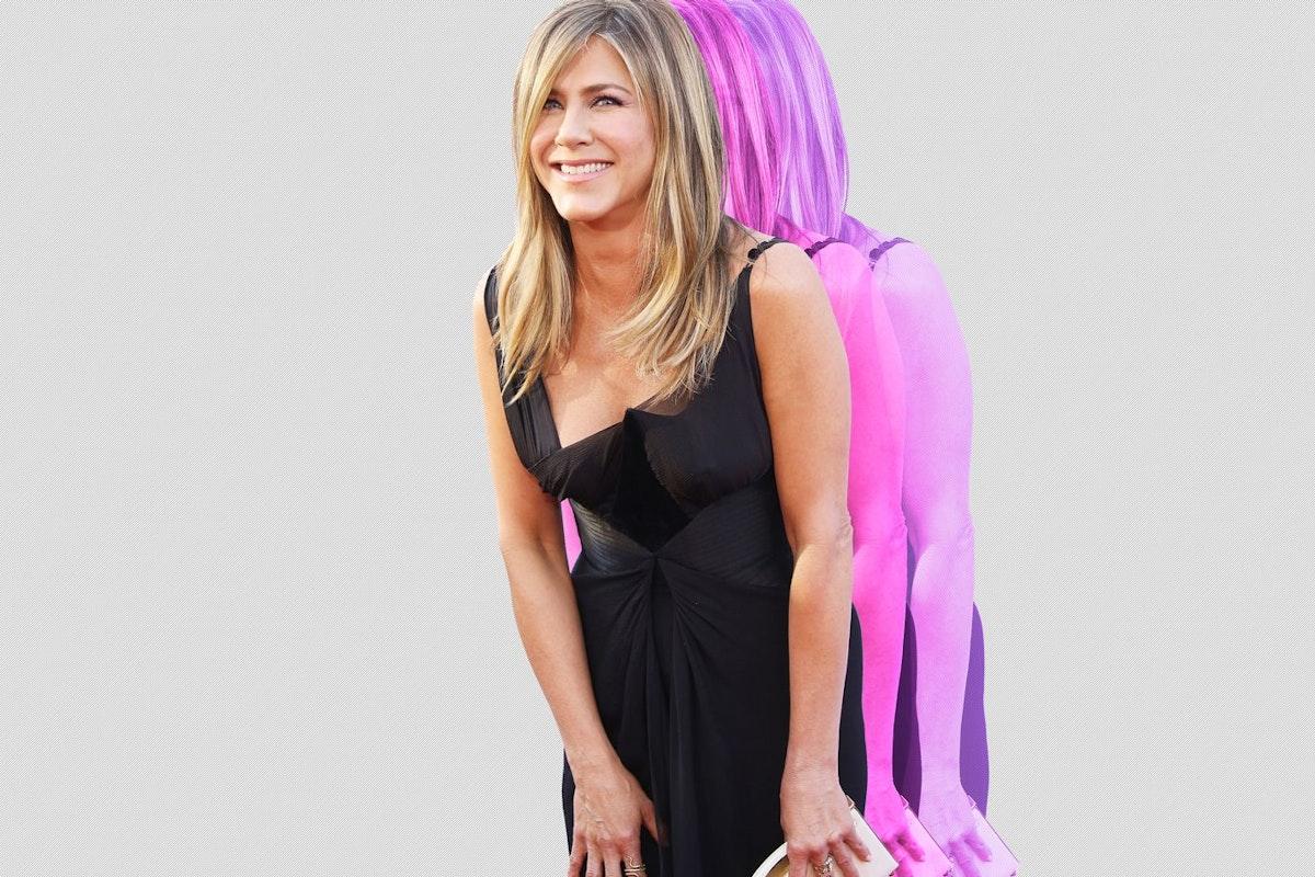 Jennifer Aniston on the red carpet