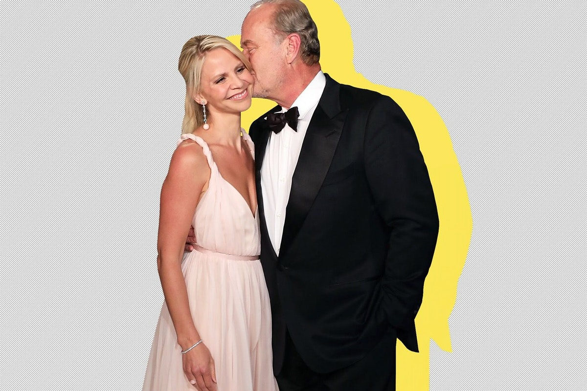 Kelsey Grammer and wife Kayte Walsh on the red carpet