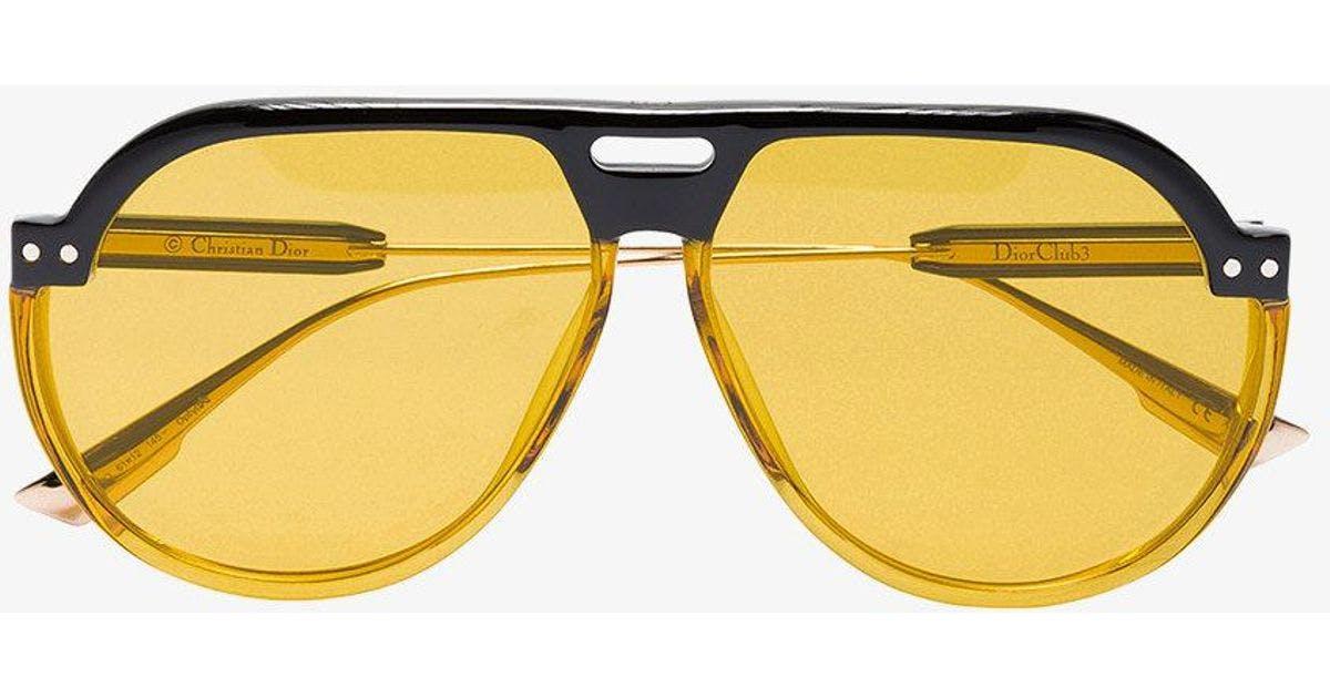 6c6396b0d06f6 Most Desired  7 statement yellow sunglasses