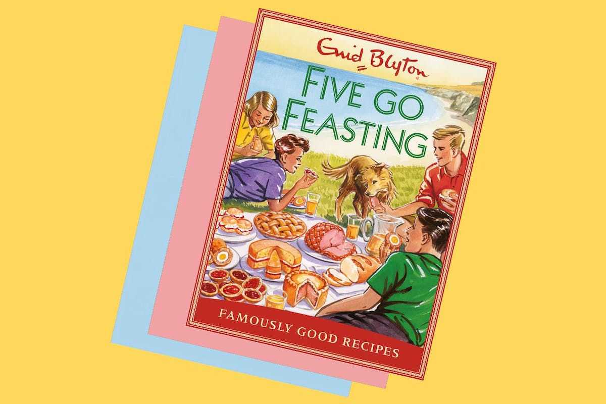 A Famous Five Recipe Book Is Set For Release