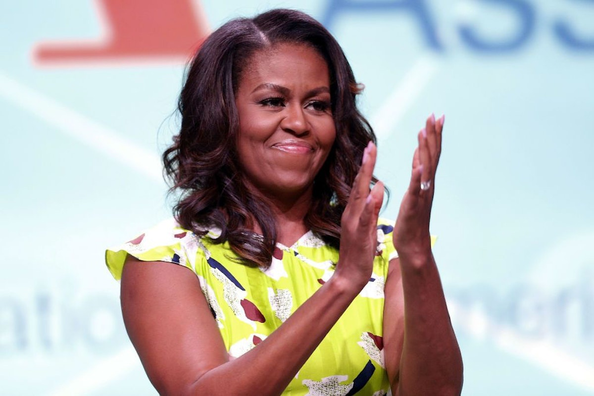 Michelle Obama in New Orleans