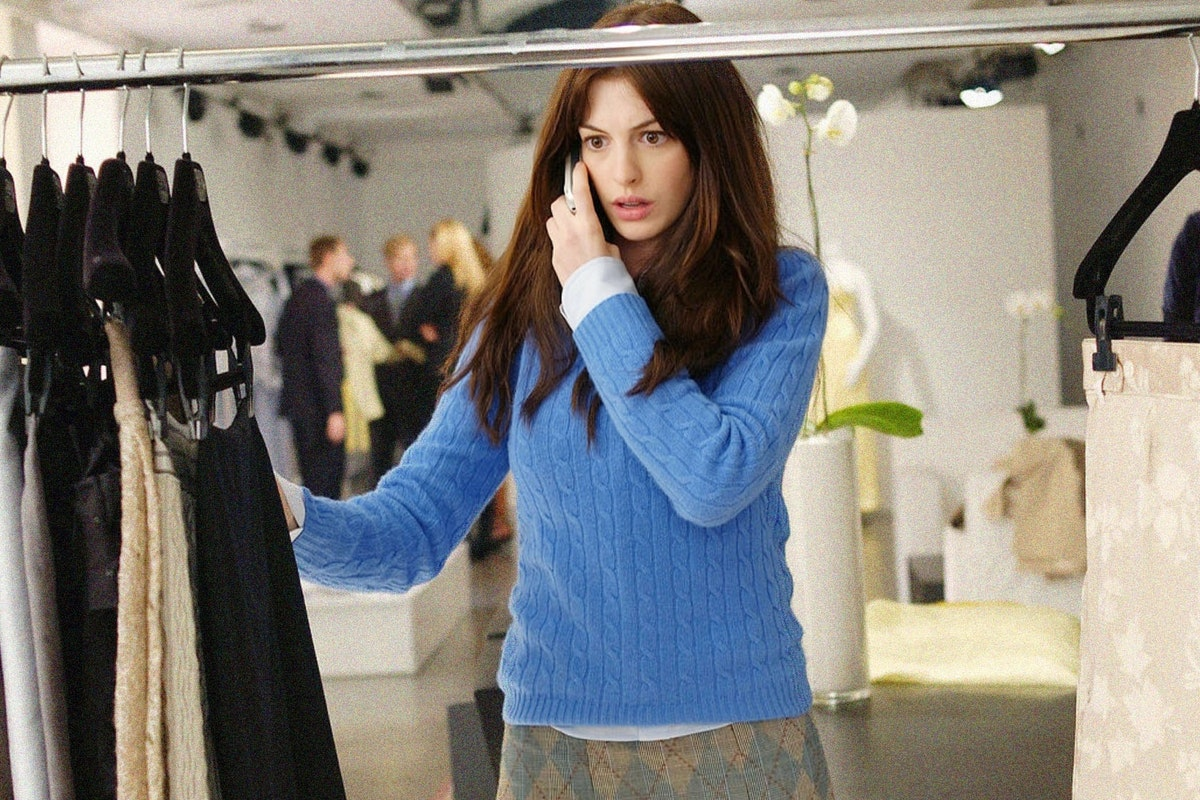 Anne Hathaway in a scene from The Devil Wears Prada
