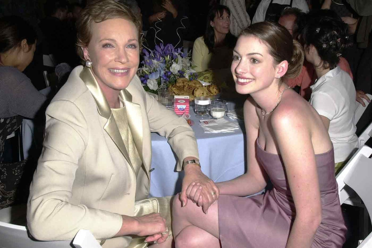 Anne Hathaway on the 5 important life lessons she learned from Julie Andrews