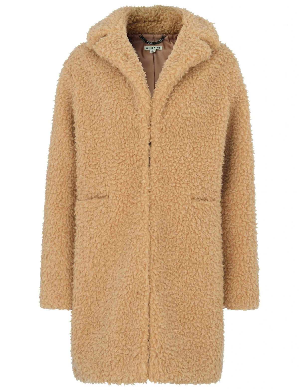 f2feec04a26 Whistles ultimate teddy coat