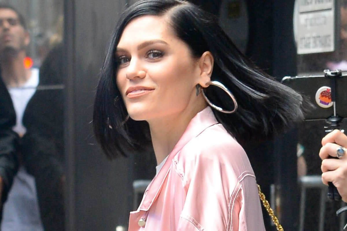 NEW YORK, NY - MAY 29: Singer Jessie J is seen leaving in outside 'Good Morning America' on May 29, 2018 in New York City. (Photo by Raymond Hall/GC Images)